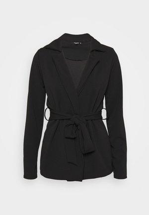 TIE WAIST  - Blazer - black