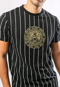 Ed Hardy - ROAR-TOUR T-SHIRT - Print T-shirt - black - 2