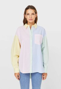 Stradivarius - Button-down blouse - multi-coloured - 0