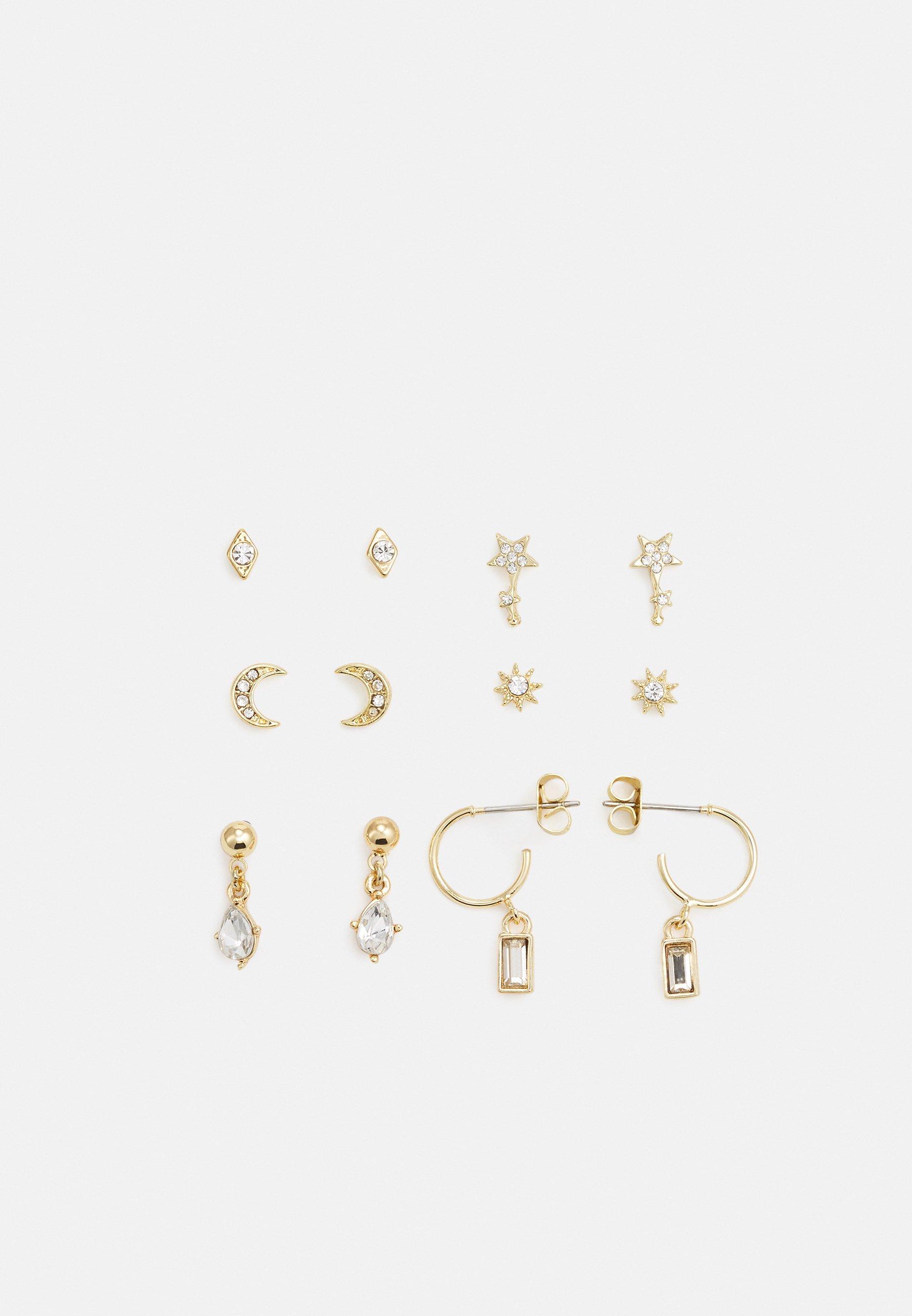 Donna PCSANNE EARRINGS 6 PACK - Orecchini