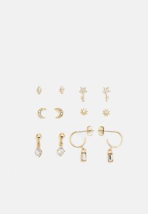PCSANNE EARRINGS 6 PACK - Boucles d'oreilles - gold-coloured