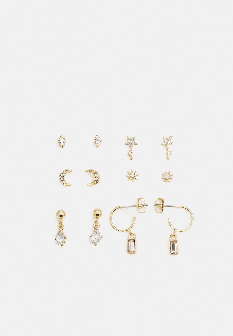 Pieces - PCSANNE EARRINGS 6 PACK - Earrings - gold-coloured