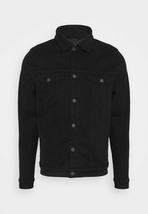 PERFECT JACKET LUXE PERFORMANCE - Denim jacket - black