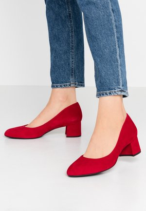 Classic heels - chilli