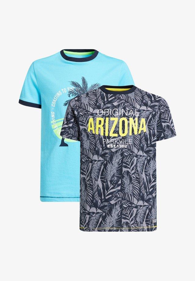 2-PACK - T-shirt imprimé - multi-coloured