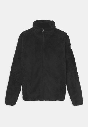 PURDENA GIRLS - Fleecová bunda - black