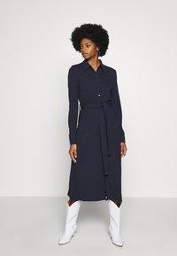 Esprit Collection - DRESS - Jersey dress - navy - 0