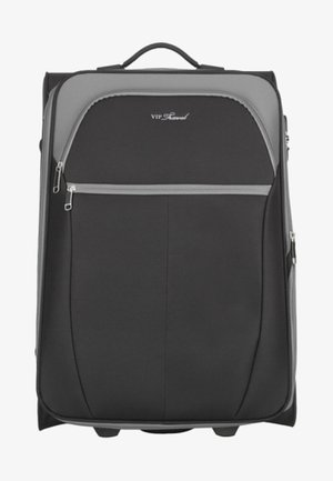 VIP KOLLEKTION - Wheeled suitcase - black/grey