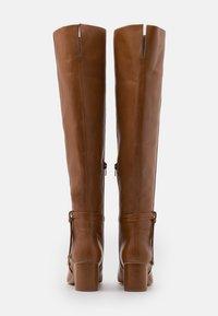 Zign - Kozačky nad kolena - brown - 3