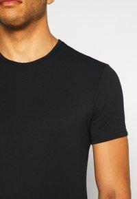 Calvin Klein Underwear - CREW NECK - Podkoszulki - black - 4