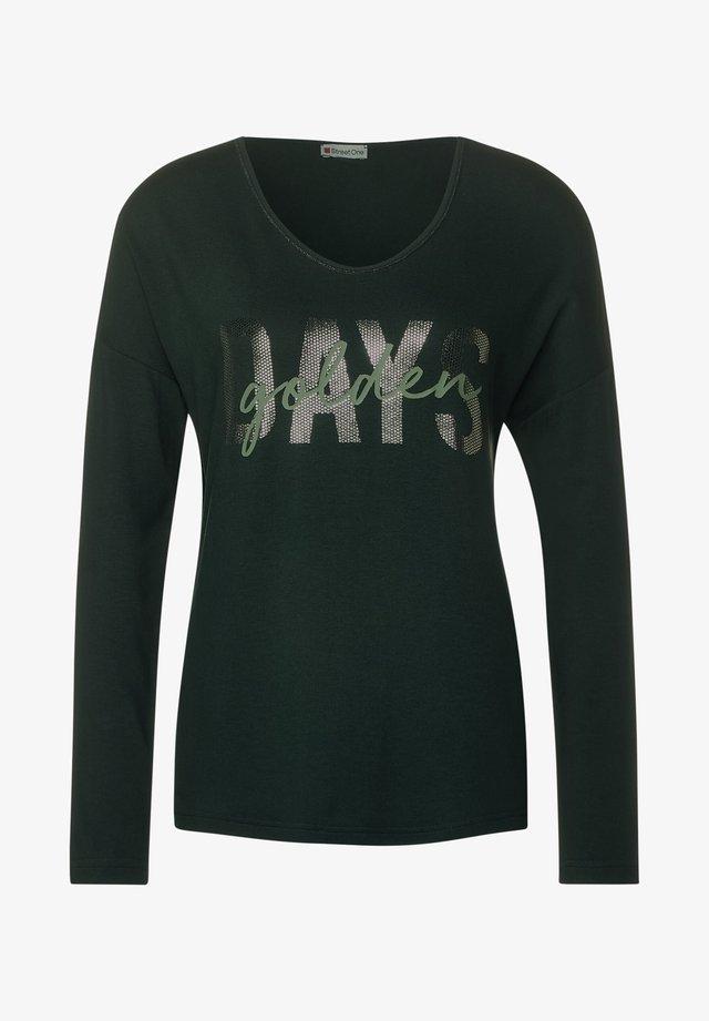 T-shirt à manches longues - grün