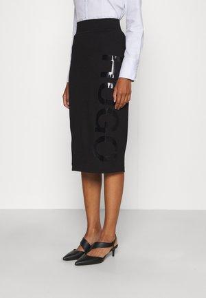 NARINARA - Pencil skirt - black