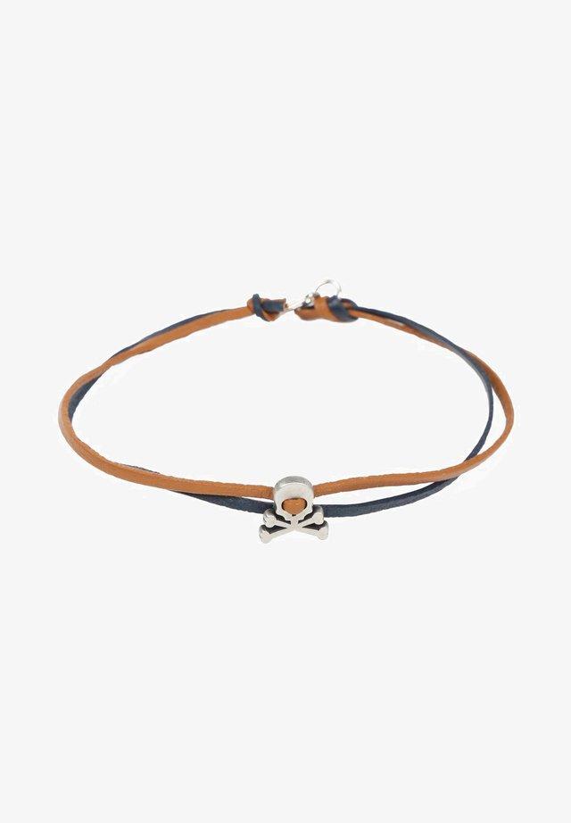 SKULL  - Bracelet - khaki/brown