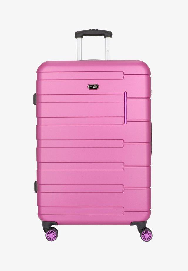 MÜNCHEN 4-ROLLEN TROLLEY 78 CM - Wheeled suitcase - beere pink