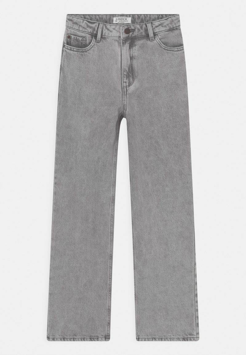 Lindex - LALEH - Jeans relaxed fit - light grey
