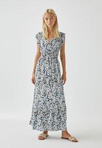 PULL&BEAR - Maxi dress - blue - 0