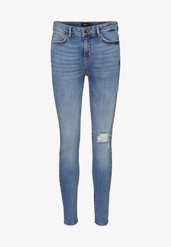 VMHANNA - Jeans Skinny - medium blue denim