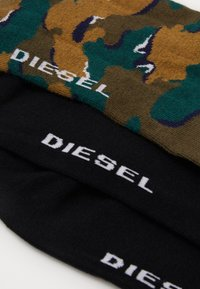 Diesel - SKM-GOST 3 PACK - Calze - black/green - 1