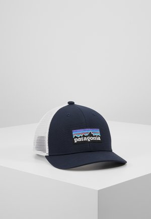 TRUCKER HAT - Gorra - navy blue/white