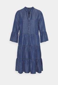 More & More - DRESS SHORT - Denim dress - mid blue denim - 0