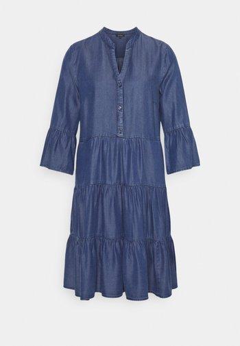 DRESS SHORT - Denim dress - mid blue denim