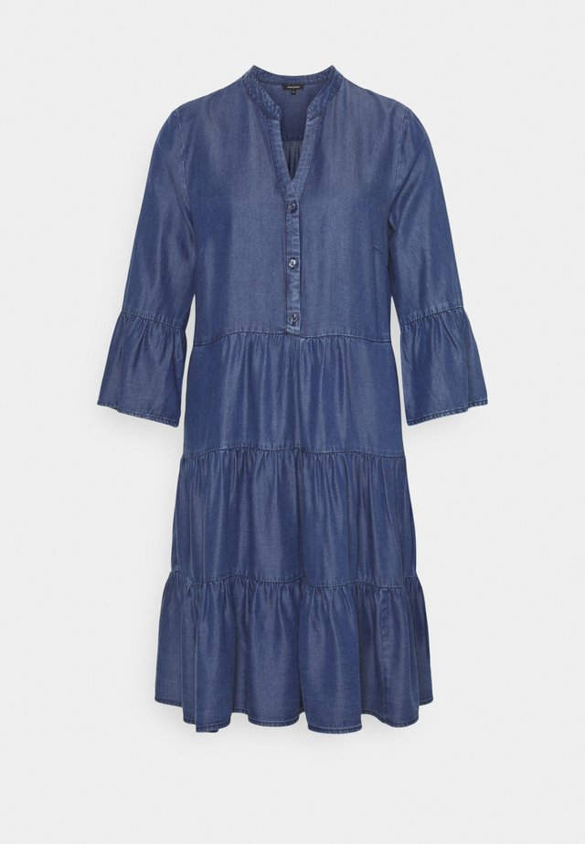 DRESS SHORT - Sukienka jeansowa - mid blue denim