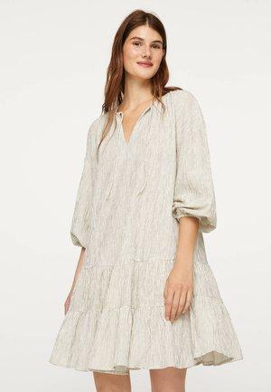 Žerzejové šaty - white
