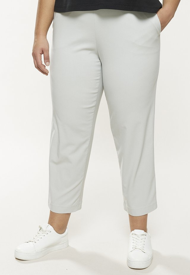Trousers - pearlgrey