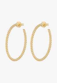 Julie Sandlau - TWISTED HOOP - Earrings - gold-coloured - 3