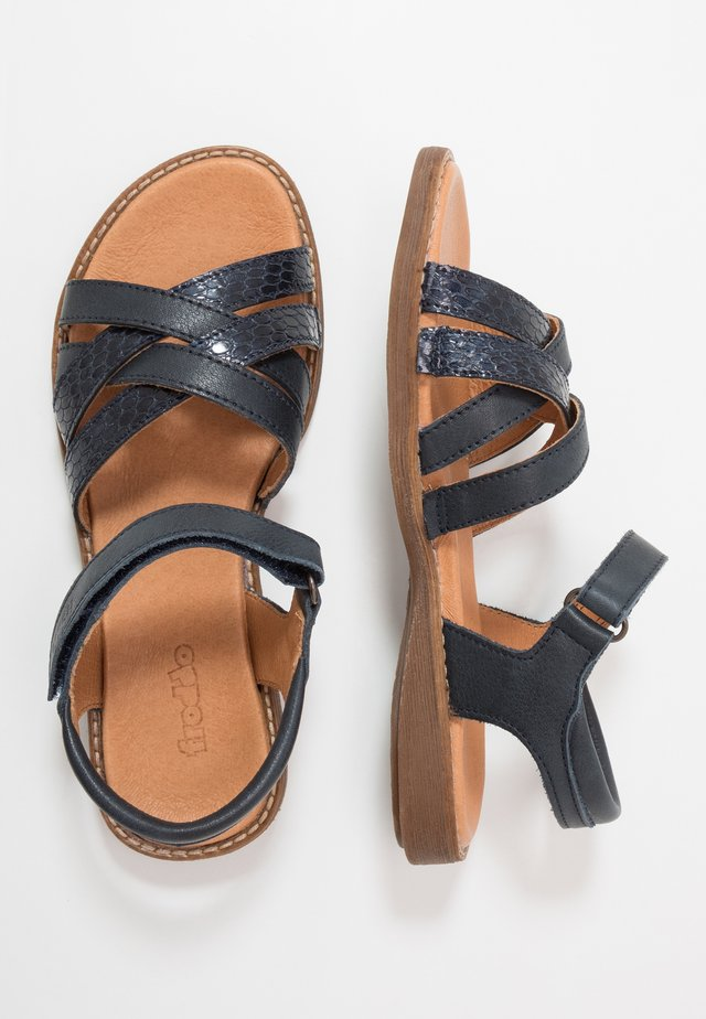 LORE STRAPS MEDIUM FIT - Sandals - blue