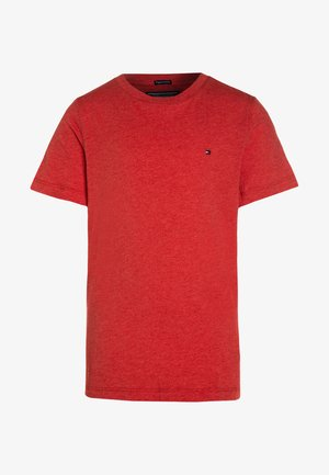 BOYS BASIC  - Jednoduché triko - apple red heather