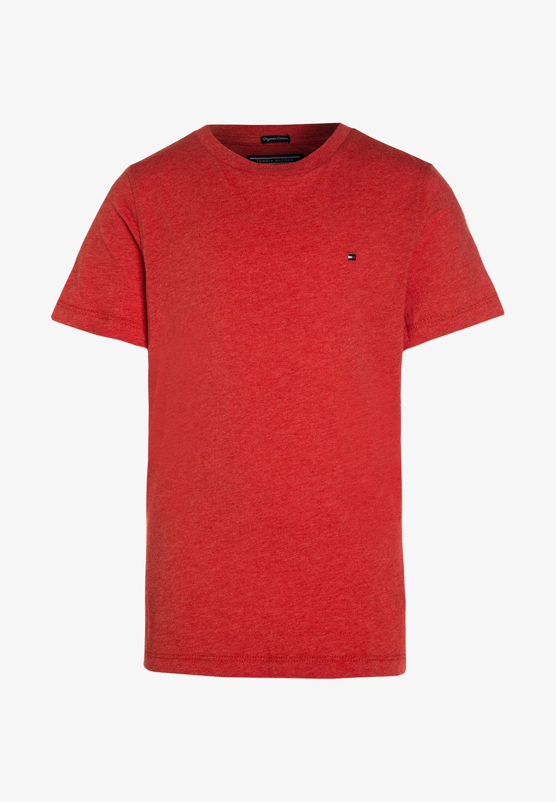Tommy Hilfiger - BOYS BASIC  - T-Shirt basic - apple red heather