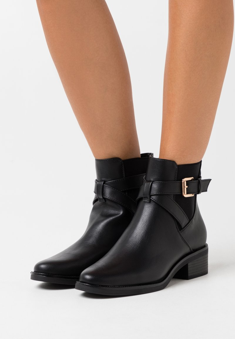 Anna Field Wide Fit - Classic ankle boots - black