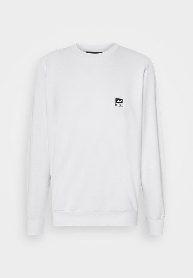 S-GIRK-K12 SWEAT-SHIRT - Felpa - white