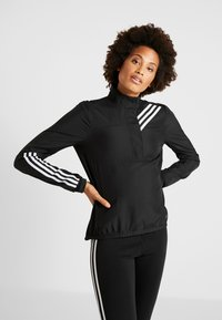 adidas Performance - RUN IT JACKET - Běžecká bunda - black - 0