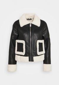 AMANDA TRUCKER JACKET - Summer jacket - black