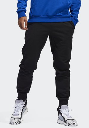 SPORT BASKETBALL TRACKSUIT BOTTOMS - Tracksuit bottoms - black