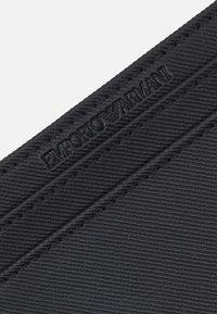 Emporio Armani - UNISEX - Portemonnee - black - 3