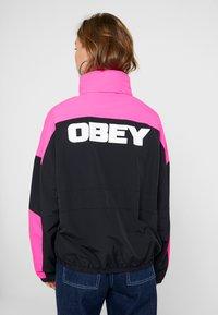 Obey Clothing - BRUGES JACKET - Training jacket - black - 2