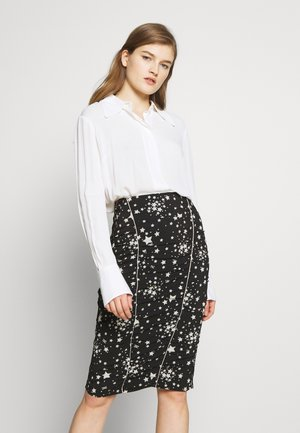 Button-down blouse - avorio