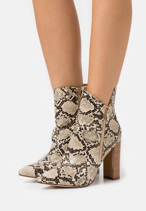 KEYLA - Classic ankle boots - beige