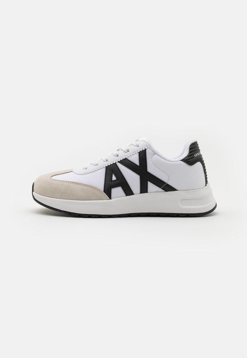 Armani Exchange - Sneakers basse - white/black