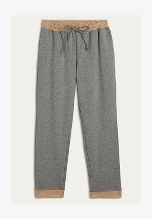 DOUBLE COZY COTTAGE - Pyjama bottoms - grey blend/natural camel