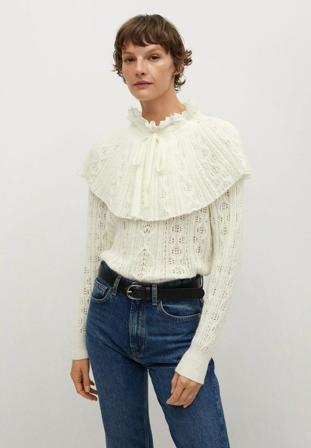 RATZINGE - Sweter - crudo