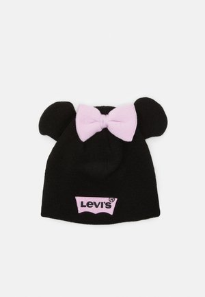 DISNEY MICKEY MOUSE BEANIE UNISEX - Bonnet - black