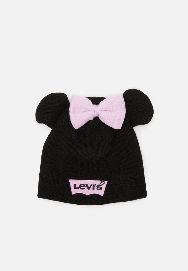 DISNEY MICKEY MOUSE BEANIE UNISEX - Mössa - black