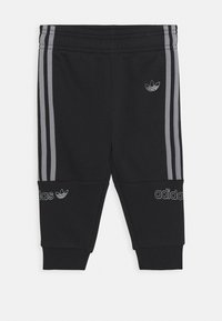 adidas Originals - HOODIE SET - Träningsset - grey/black - 2