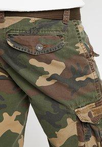 Schott - BATTLE - Shorts - khaki - 5