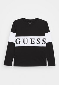 Guess - JUNIOR - Camiseta de manga larga - jet black - 0