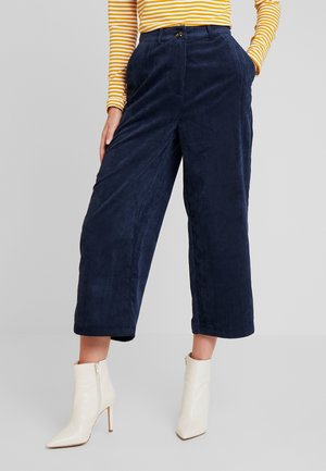 KAMELANI CULOTTE PANTS - Trousers - midnight marine